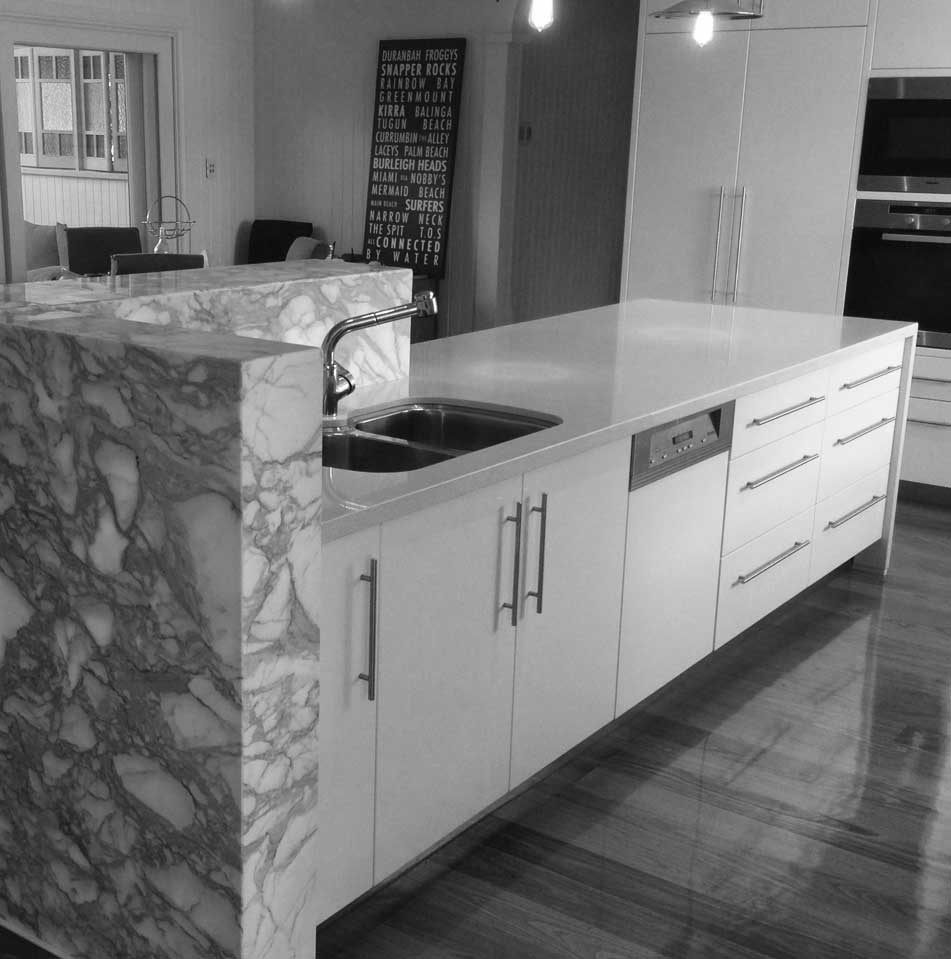 Adams Designer Kitchens Gold Coast - We build custom bars, vanities ...